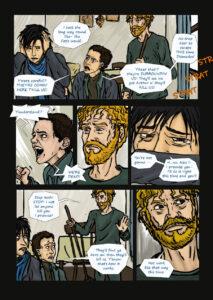 webcomic page